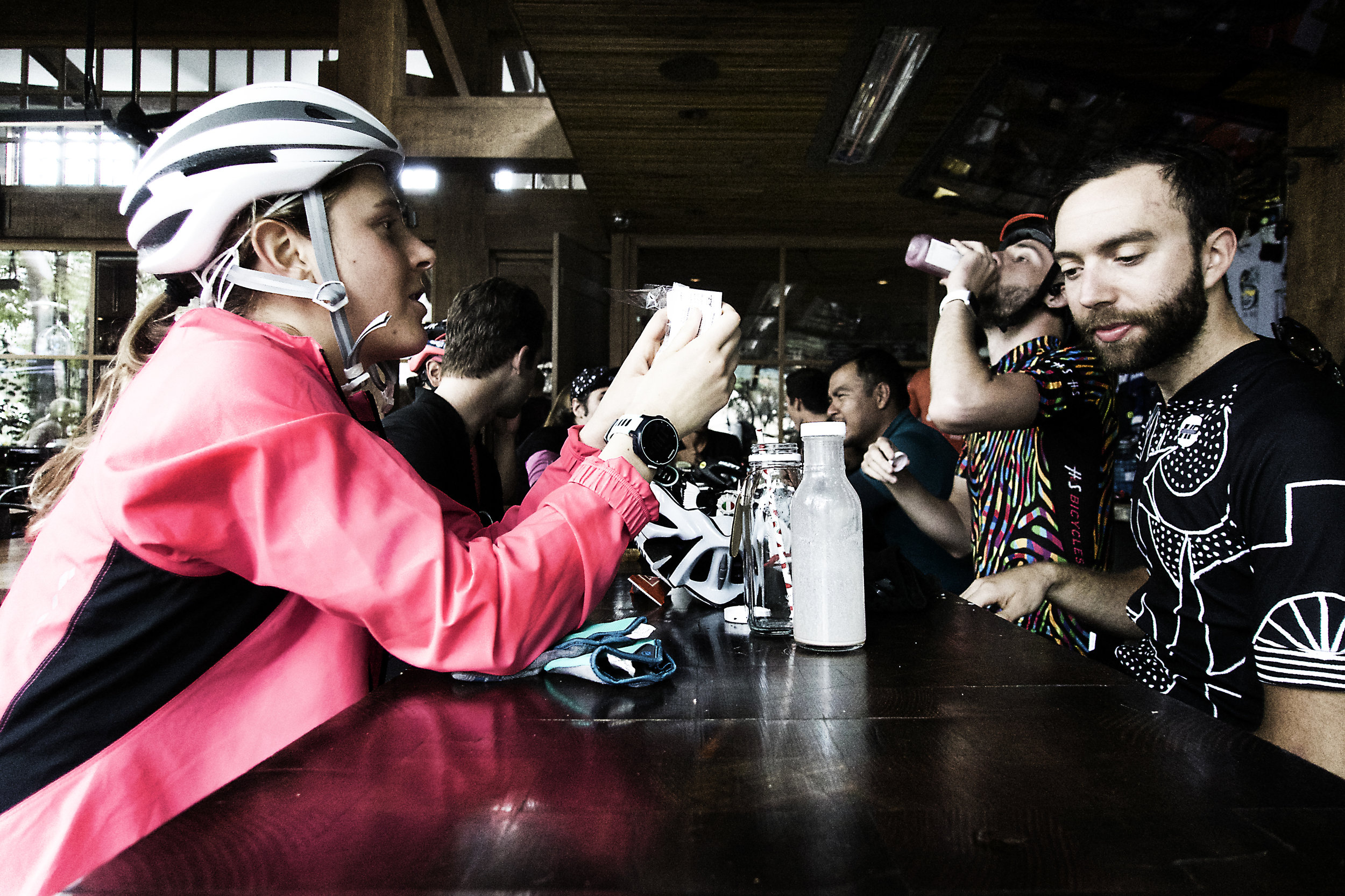 Pedaler's Fork coffee stop
