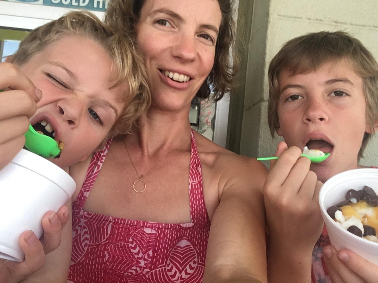 mom and boys, fro yo.jpg
