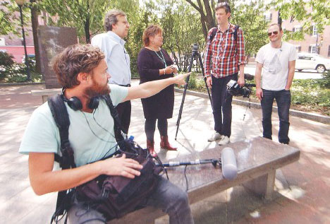 Paul Marion with UK Travel Channel TV.jpg