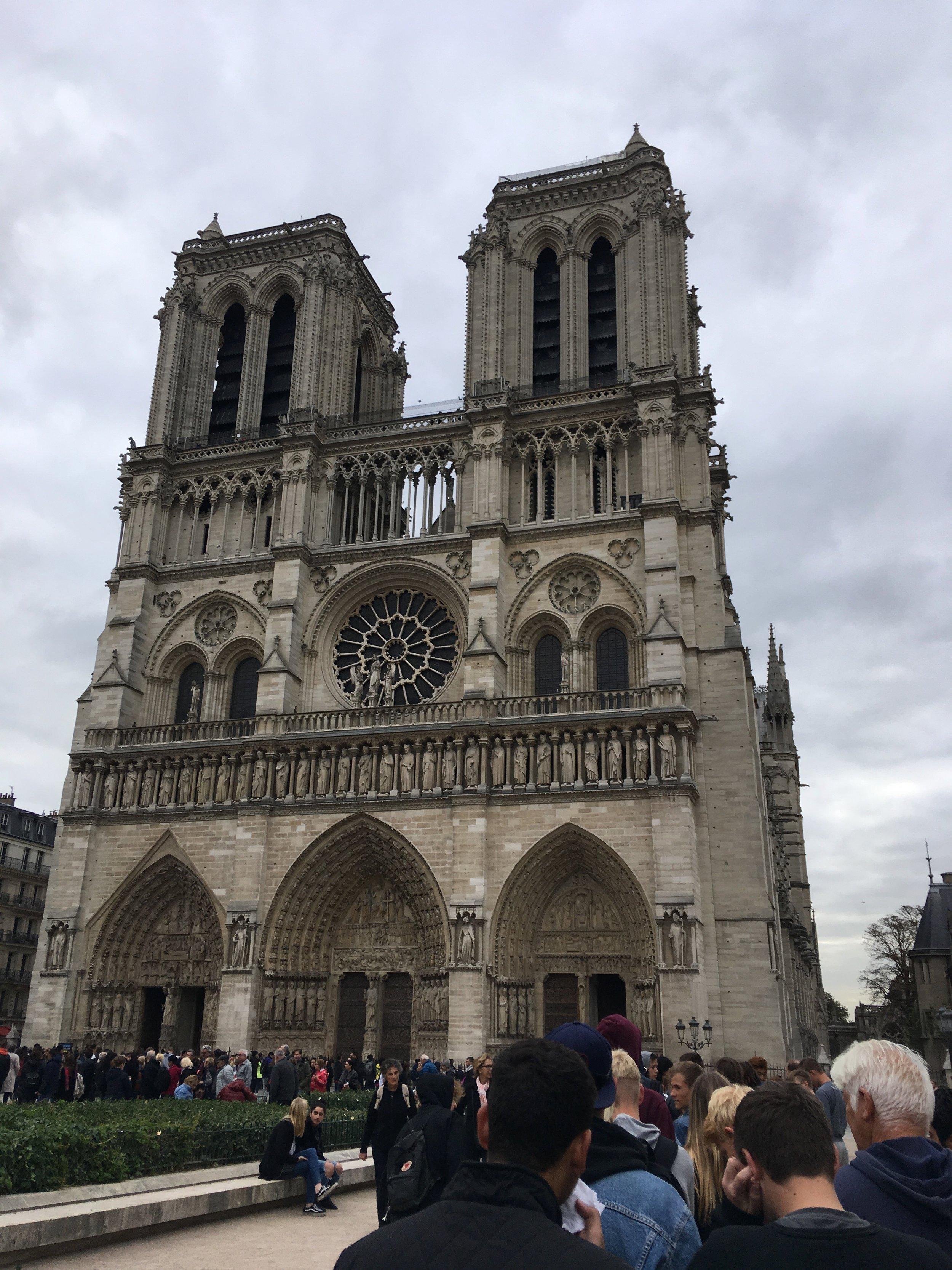 Notre-Dame Cathedral, Paris, 2017