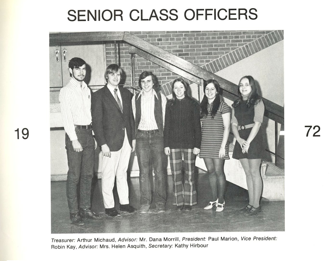 From the 1972 Yearbook of Dracut High School.
