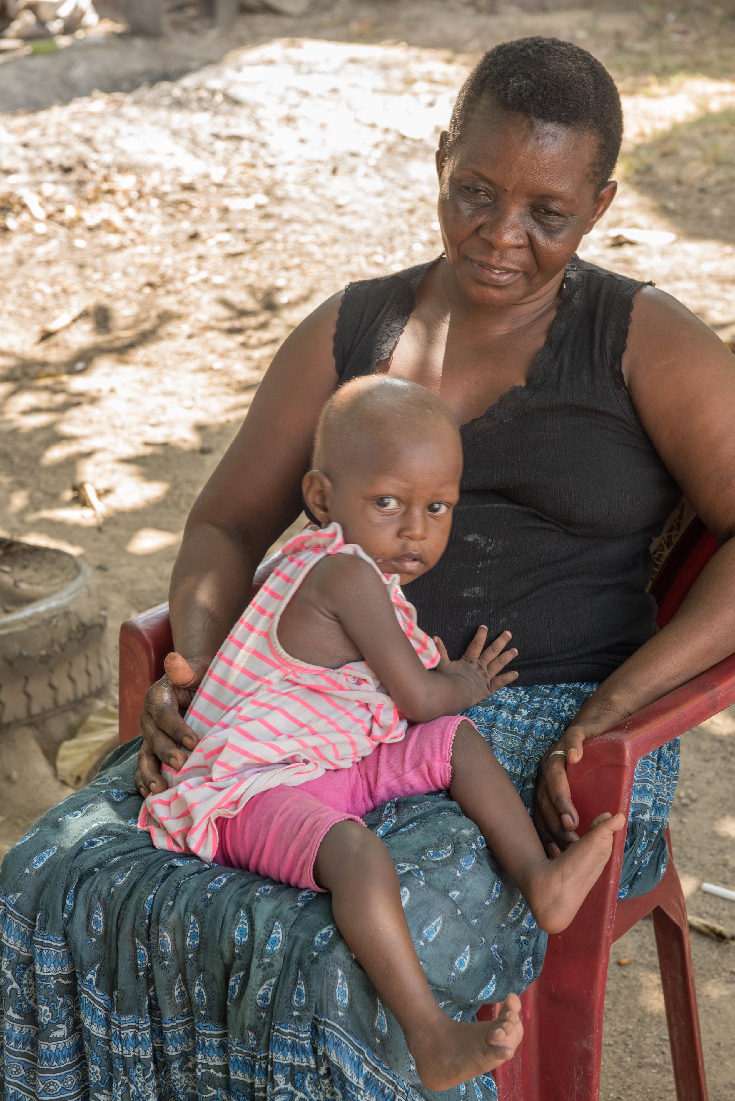 Risper Ayub (Mama) with Natalie