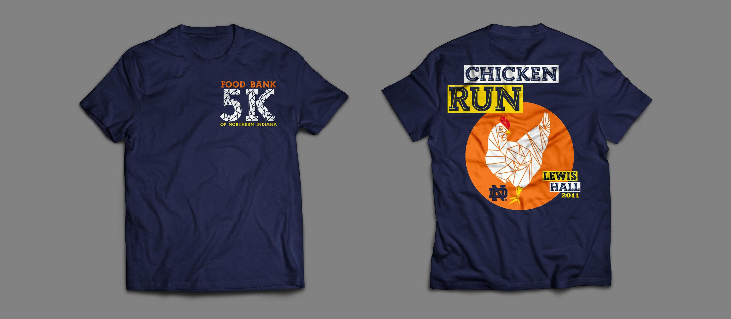 5K Charity Run Shirt Design