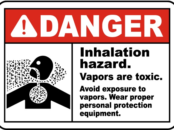 If the FDA begins regulating the production of these compounds (and they damn well should!) these signs would legit be required in production areas like all VOC production requires…
