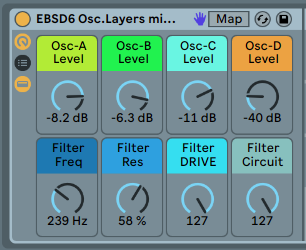 ADDITIVE SYNTHESIS - Combine all the lessons together into a complex sound with several layers [.adg 7kb]