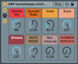 ARP MONO BLEEPS - Analog Instrument + Arp + AutoFilter fun [.adg 6kb]