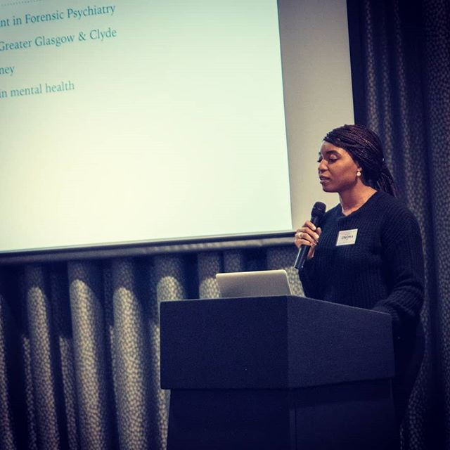 Had such a great time speaking to this vibrant group of women about the importance of mental and emotional well-being. It's not often that I get asked to share my passion for mental health outside of my day job. So rewarding! Thank you @teamchurchgla for the invite. I had the best time! 🤗 . . . #singer #songwriter #music #medicine #psychiatrist #mood #mind #mentalhealth #wellness #wellbeing #Glasgow #Scotland