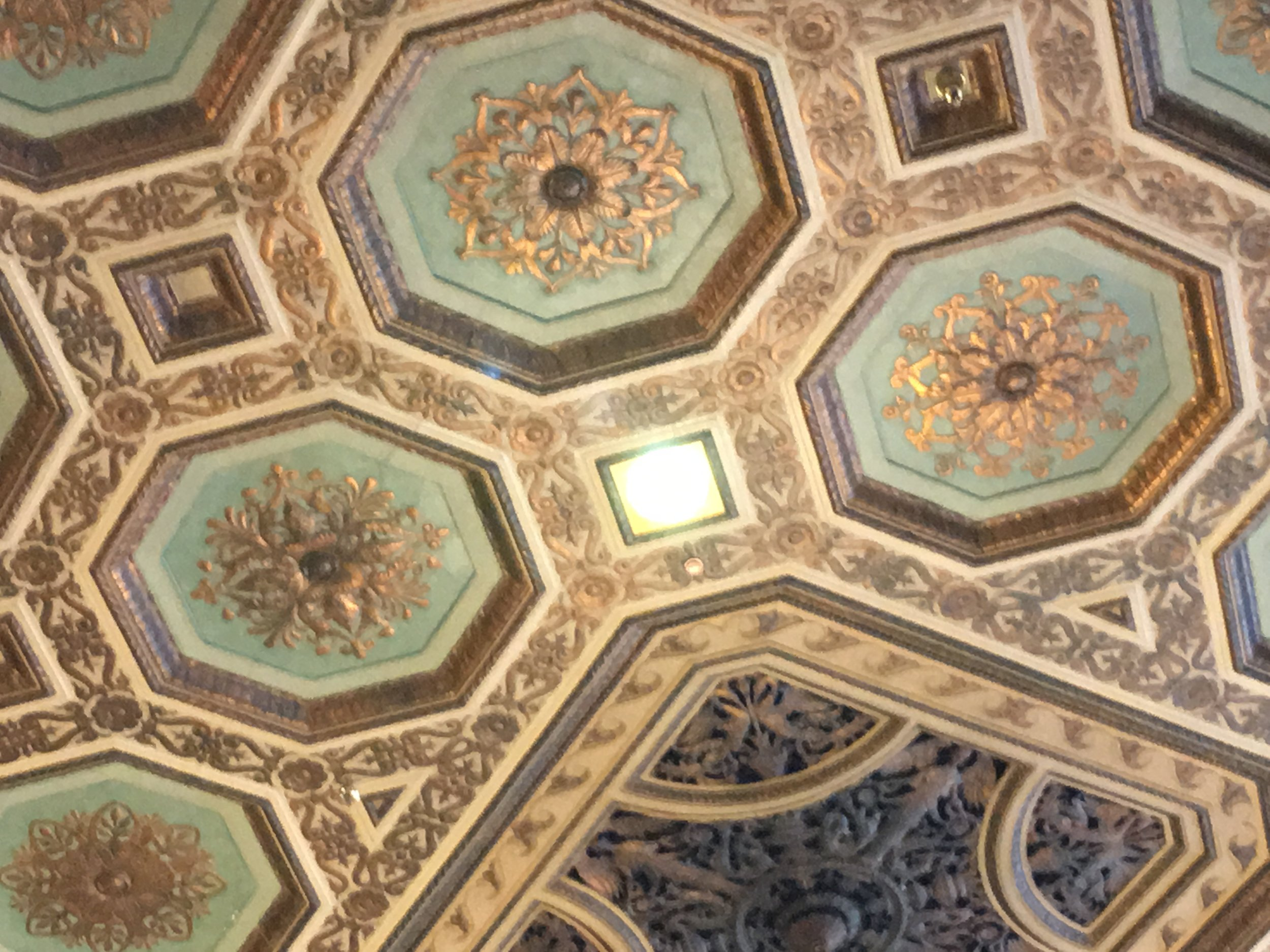 The magnificent ceiling!