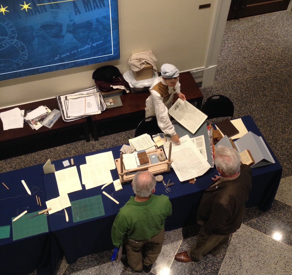 A top-down image of the table layout.