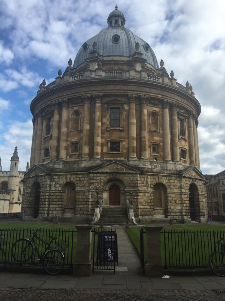 Radcliffe Camera at the Bodlein Library in Oxford