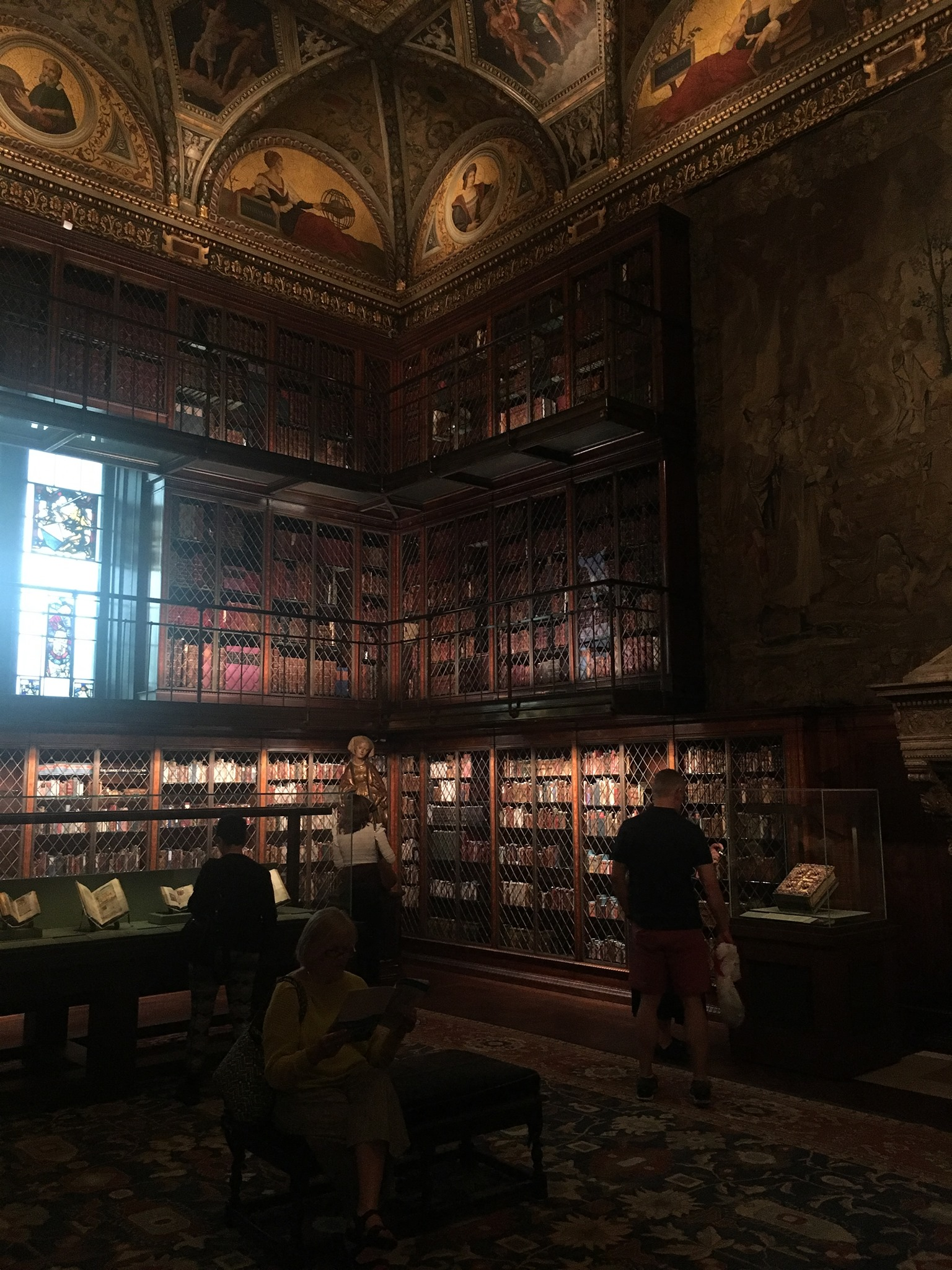 Interior of the Morgan Library in New York