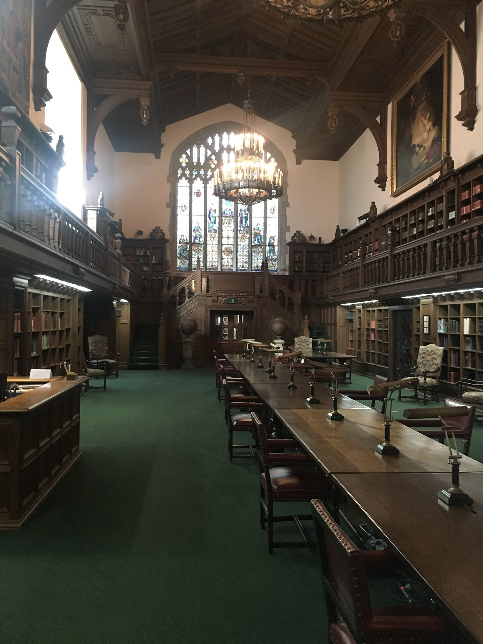 The Folger Shakespeare Library reading room