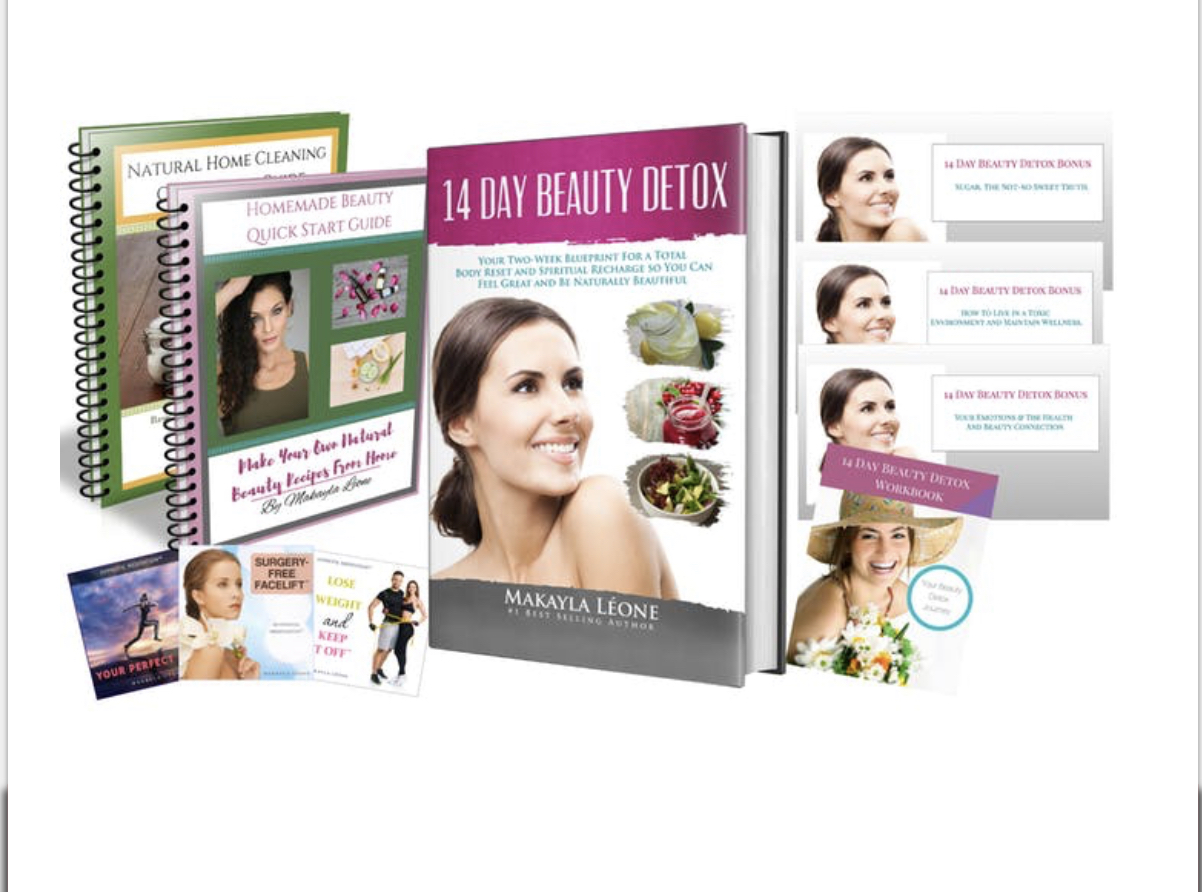 Want healthy skin from the inside out? Snag your    14- Day Beauty Detox!