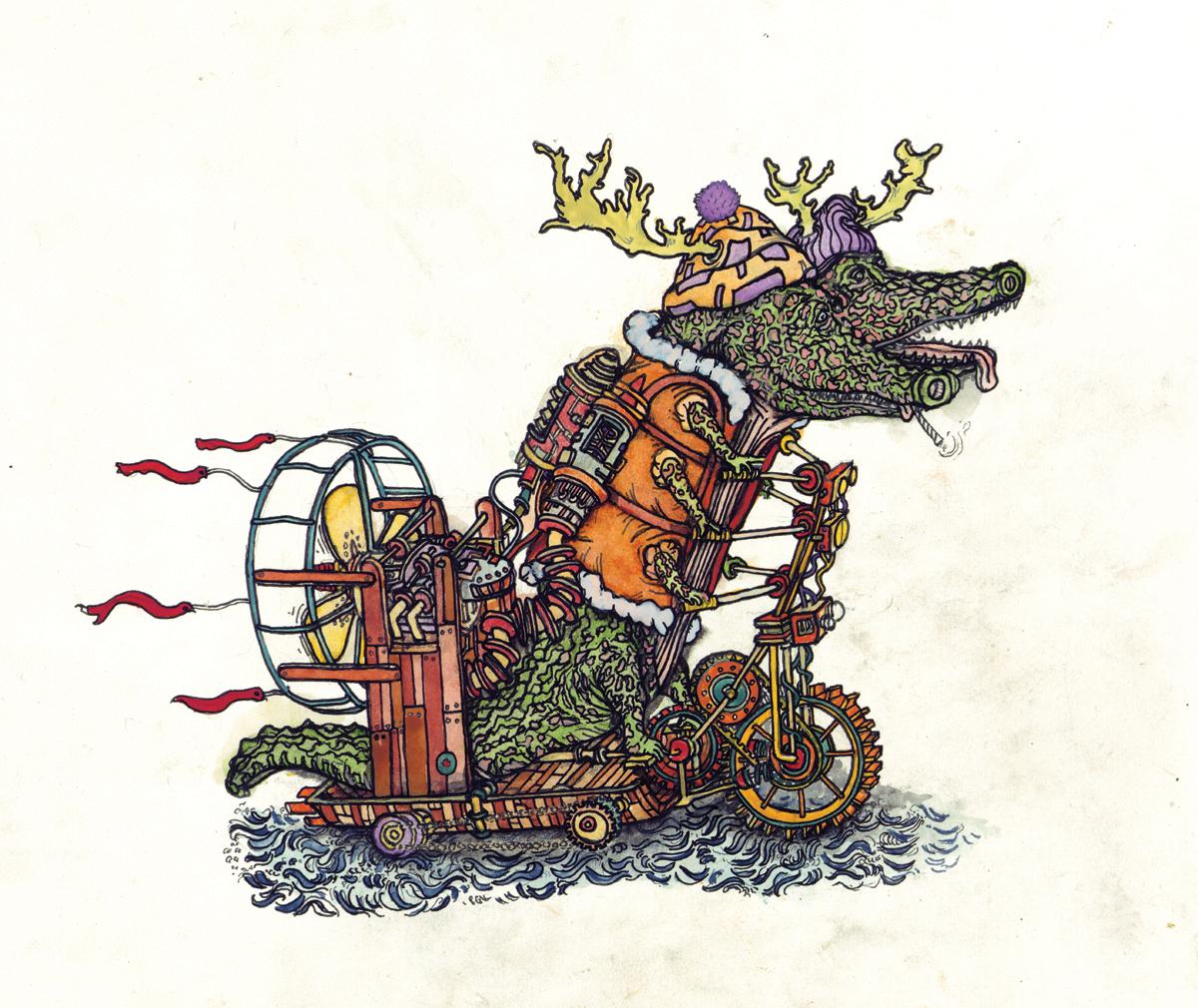 gatorcycle, c.b.r. 2015