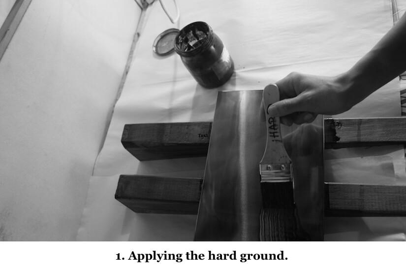 1 Applying hard ground .jpg