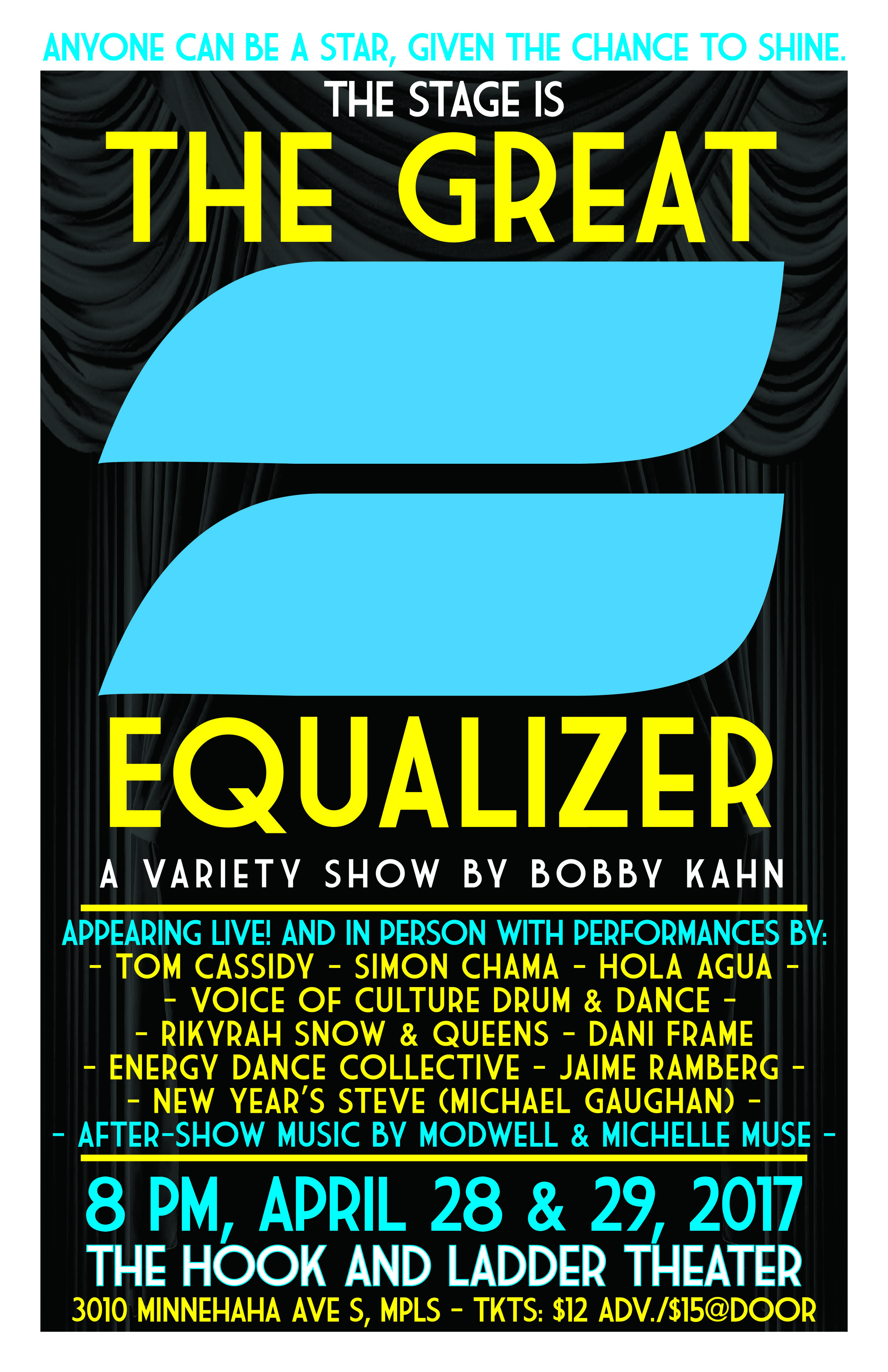 Flyer designed by James Kloiber