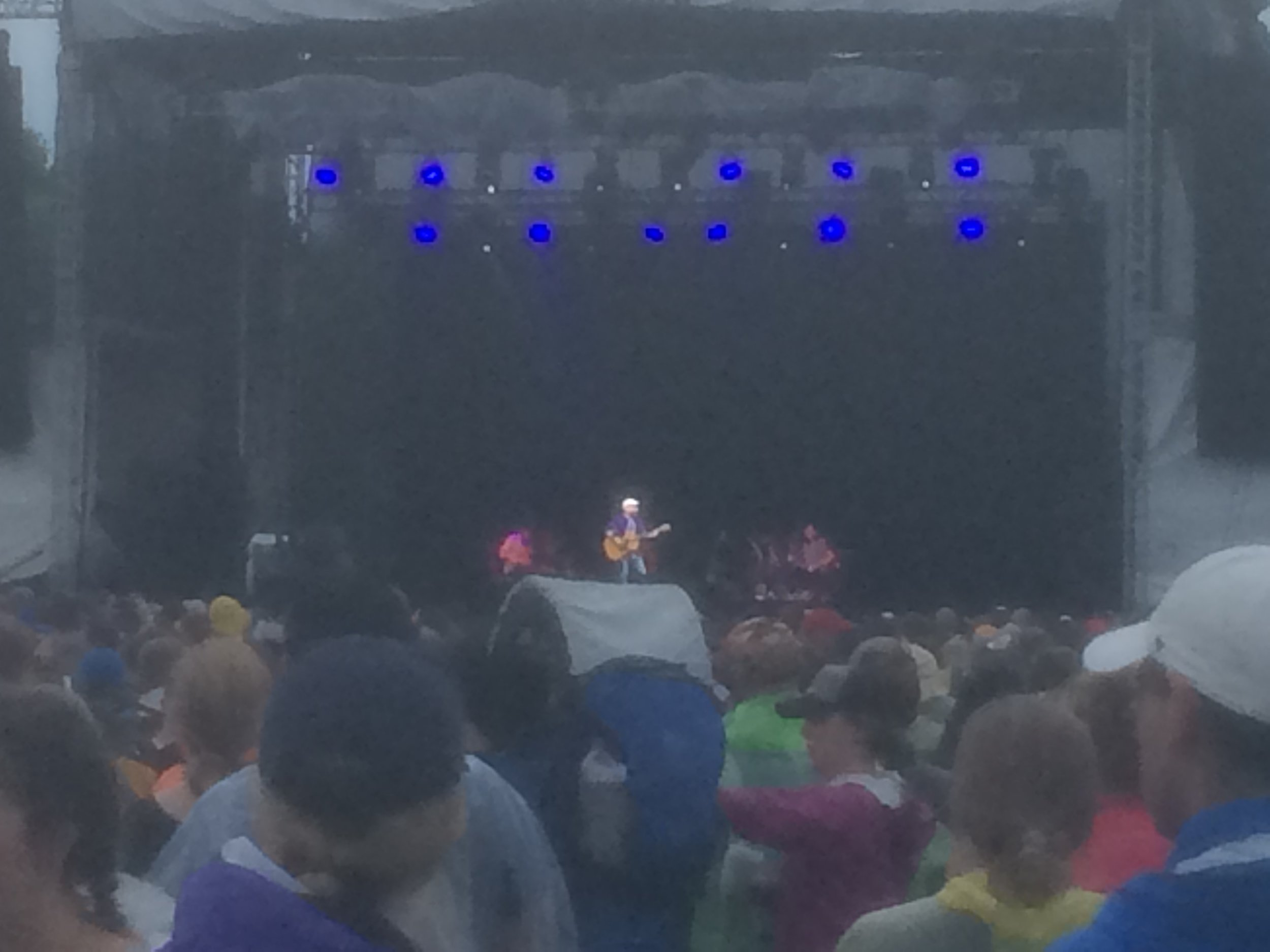Paul Simon with yMusic. Apologies for the cell phone pictures!