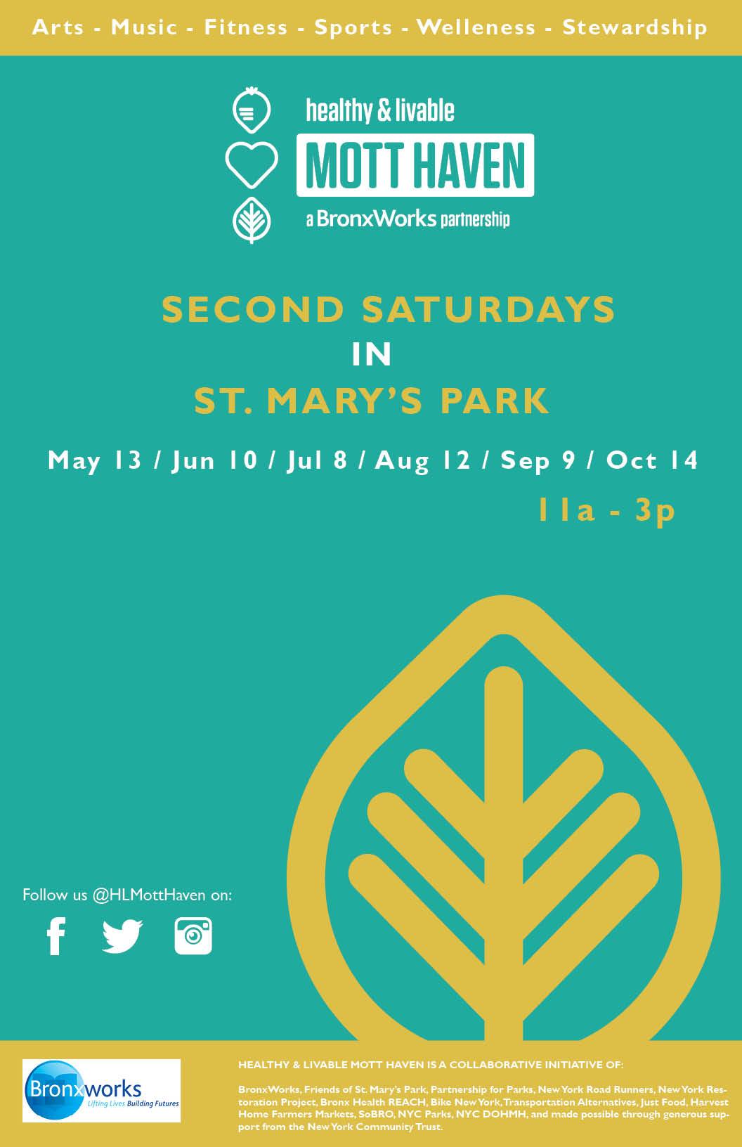 BronxWorks - Second Saturdays