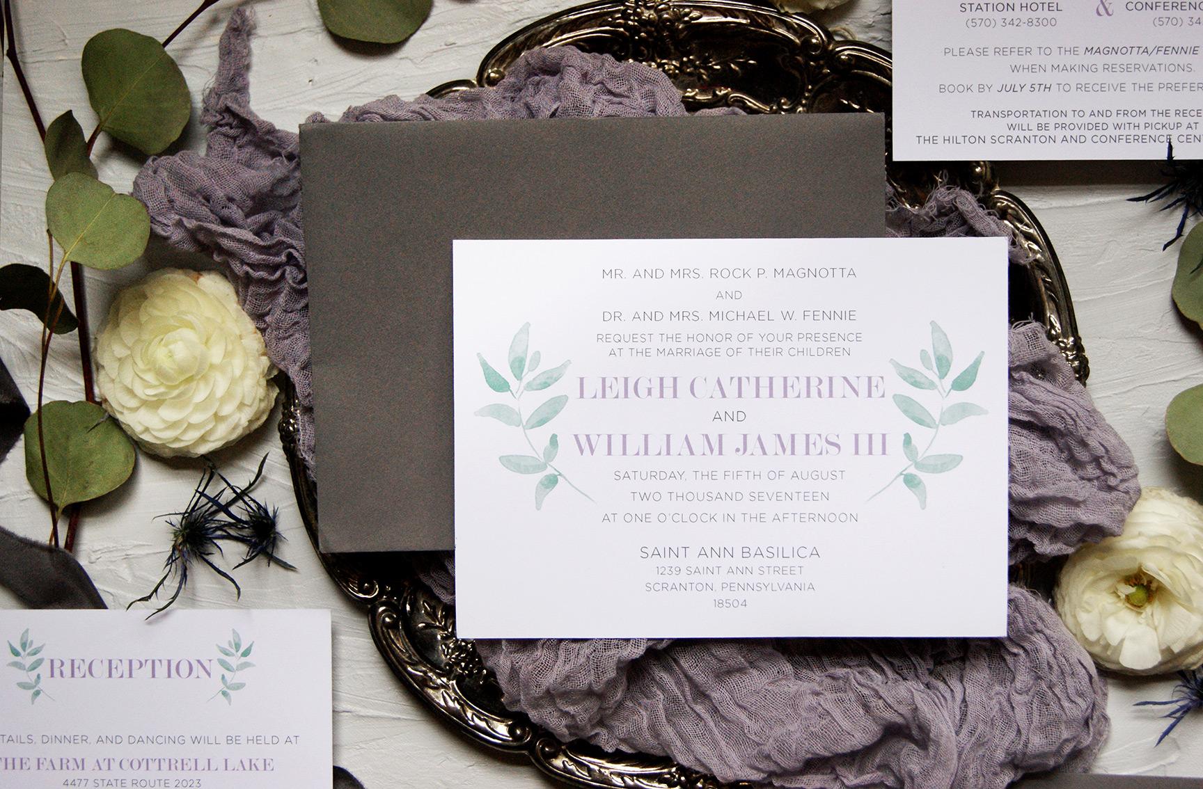 Wedding Invitation | Custom Wedding Invitation Design | Rustic Wedding Invitation | Wedding Stationery