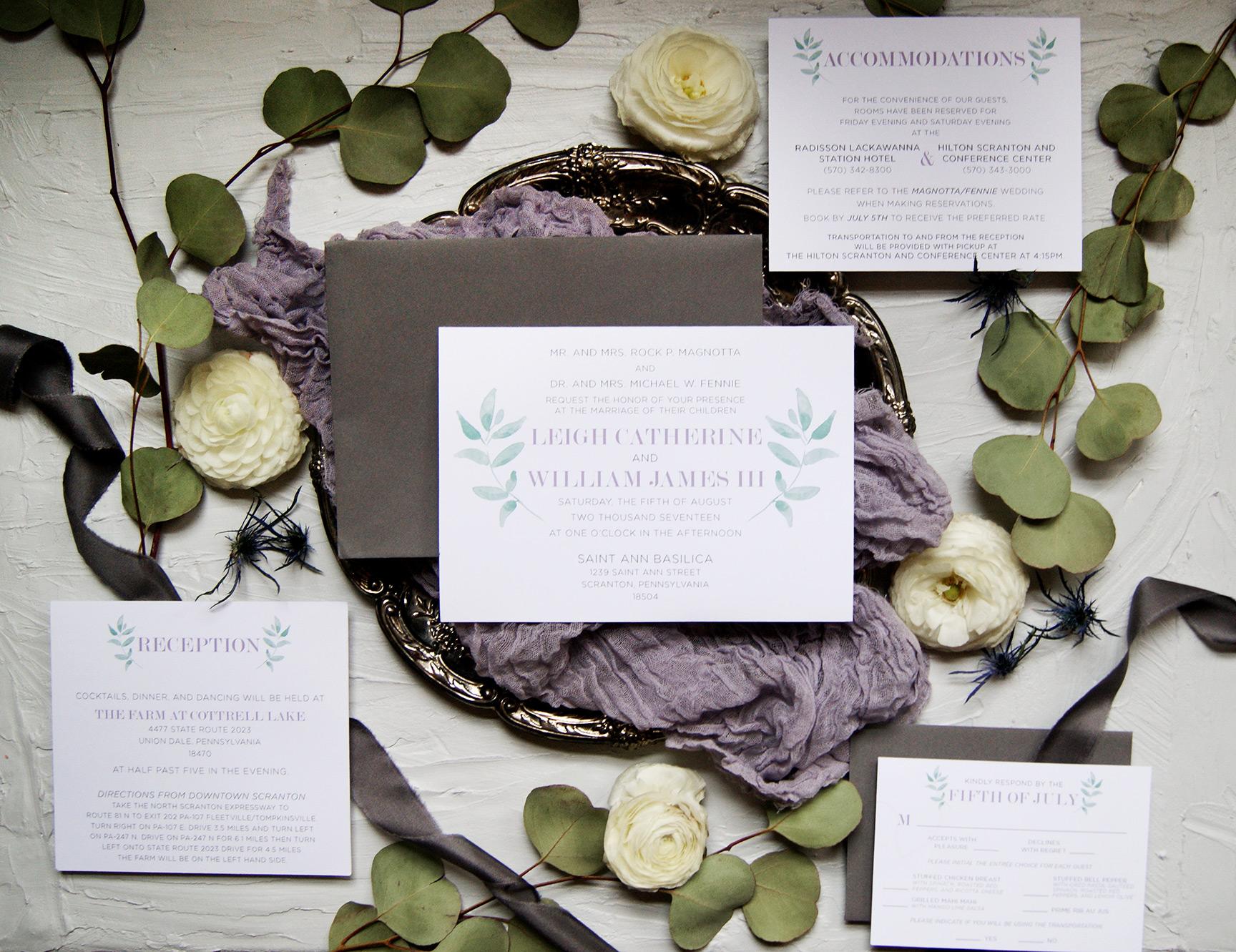 Full Custom Wedding Invitation Design | Wedding Invitation Suite | Custom Wedding Invitation | Rustic Wedding Invitation | Wedding Stationery