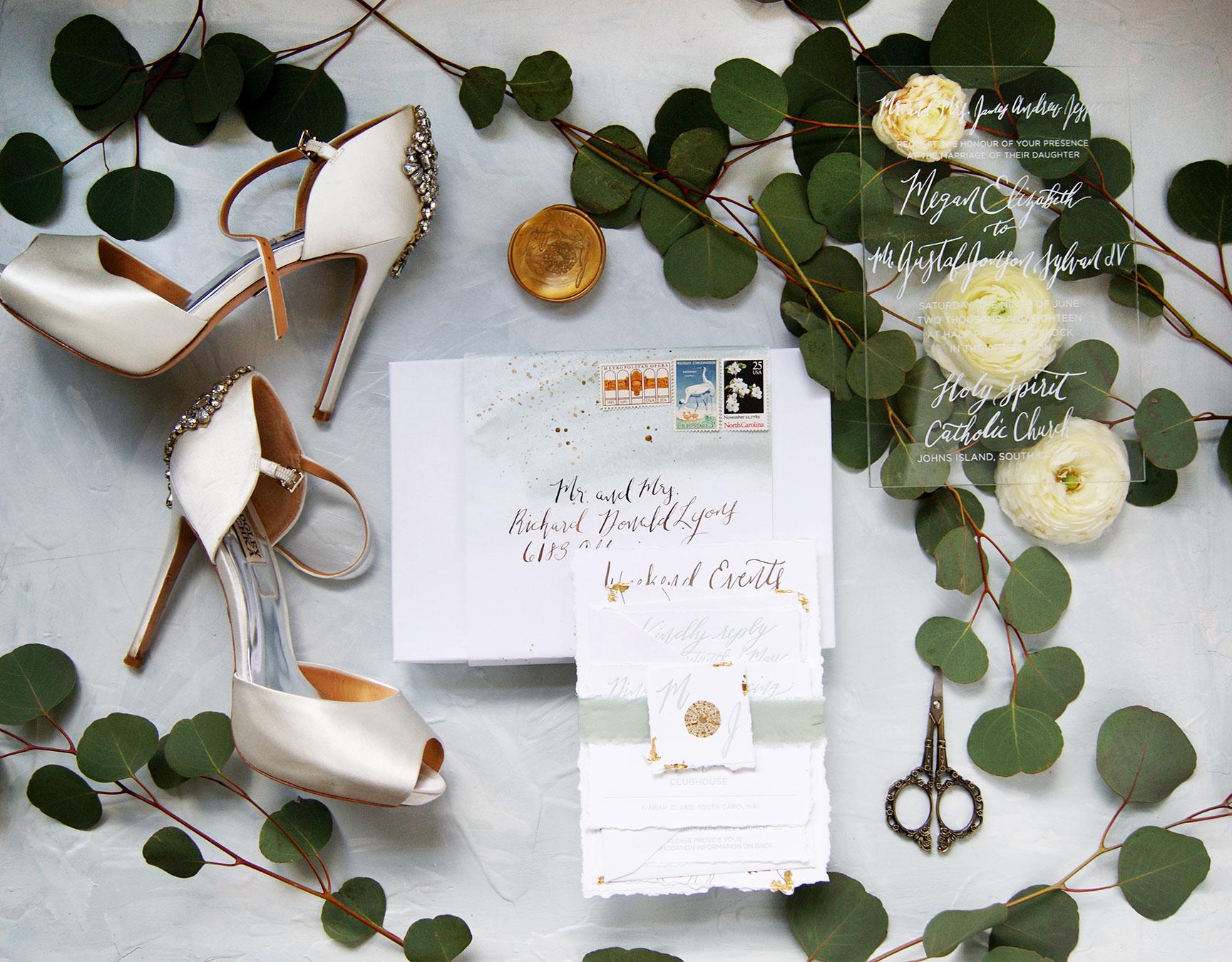 Kiawah Island Wedding Invitation