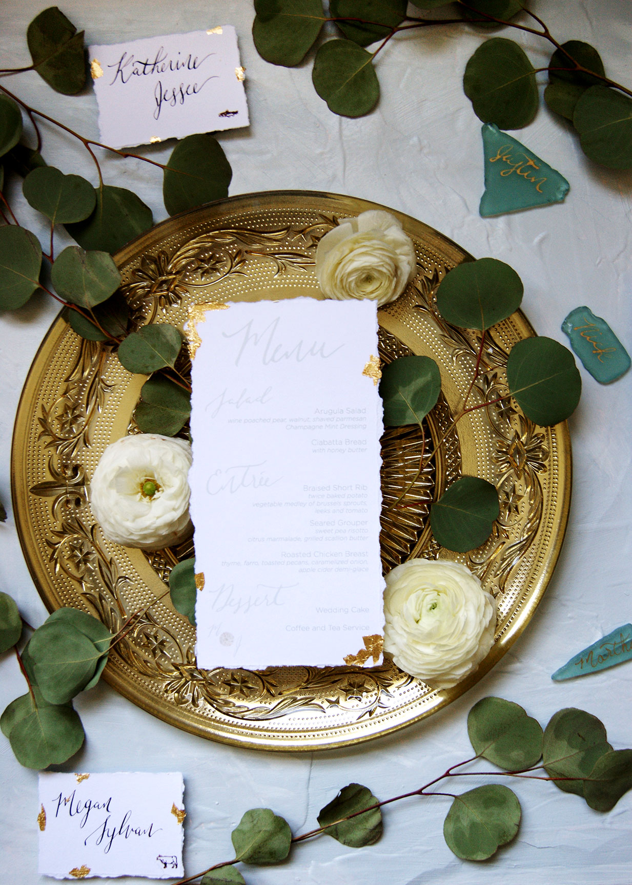 Kiawah Island Wedding Day Paper Goods
