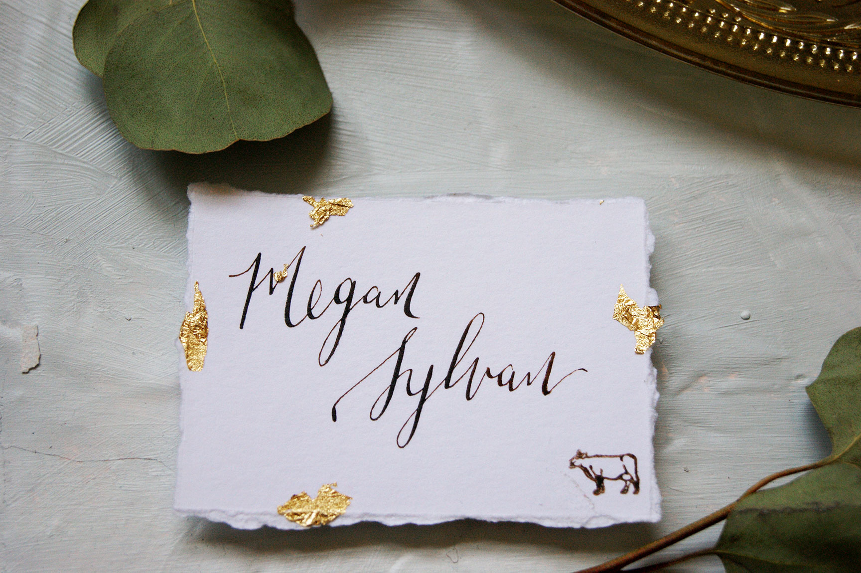 Kiawah Island Wedding Place Card