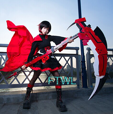 Though the Animation isn't as fresh as it once was, our Ruby cosplayers stand strong.(www.aliexpress.com)