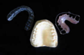 Two types of orthodontic retainers
