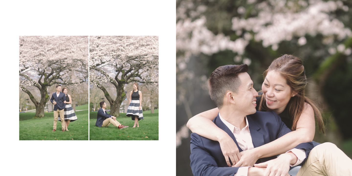 Couple-under-the-cherry-blossom-tree-vancouver-ubc-rosegarden
