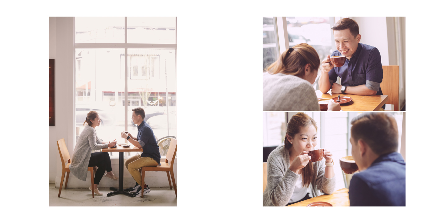 Rocanini-coffee-roasters-couple-enjoying-coffee-at-stevestone-casual-engagement-session