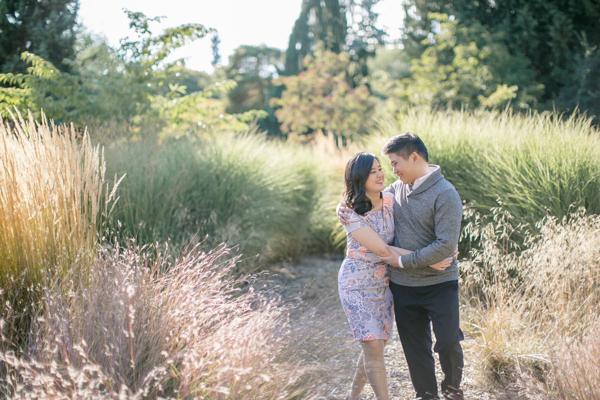 engagement-shoot-venues-vancouver-van-dusen-couple-walking-side-by-side