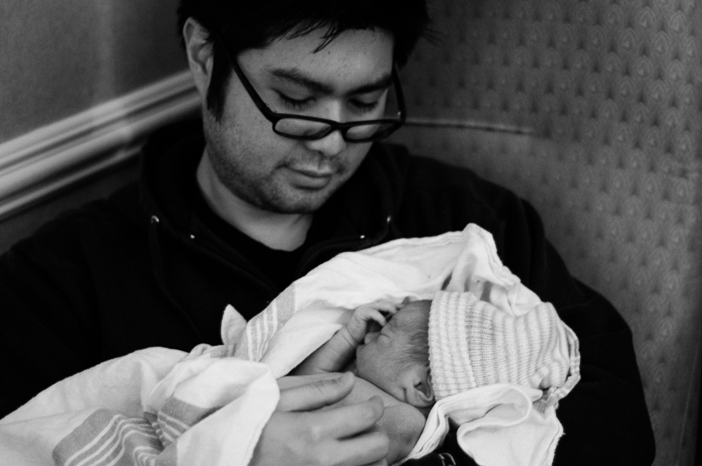 The birth of this blog reminds me of the birth of my first son.