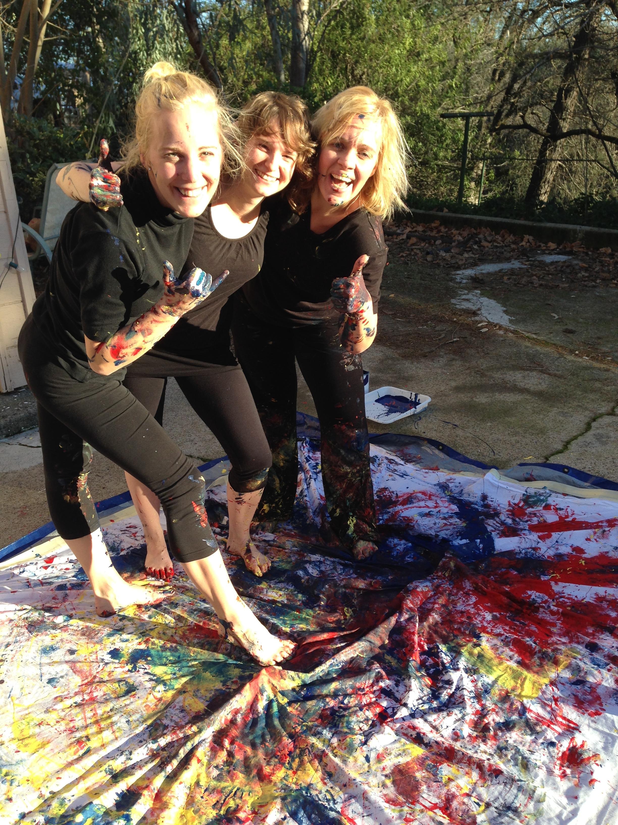 The incredible Katharina, Elisa, and Carmella!