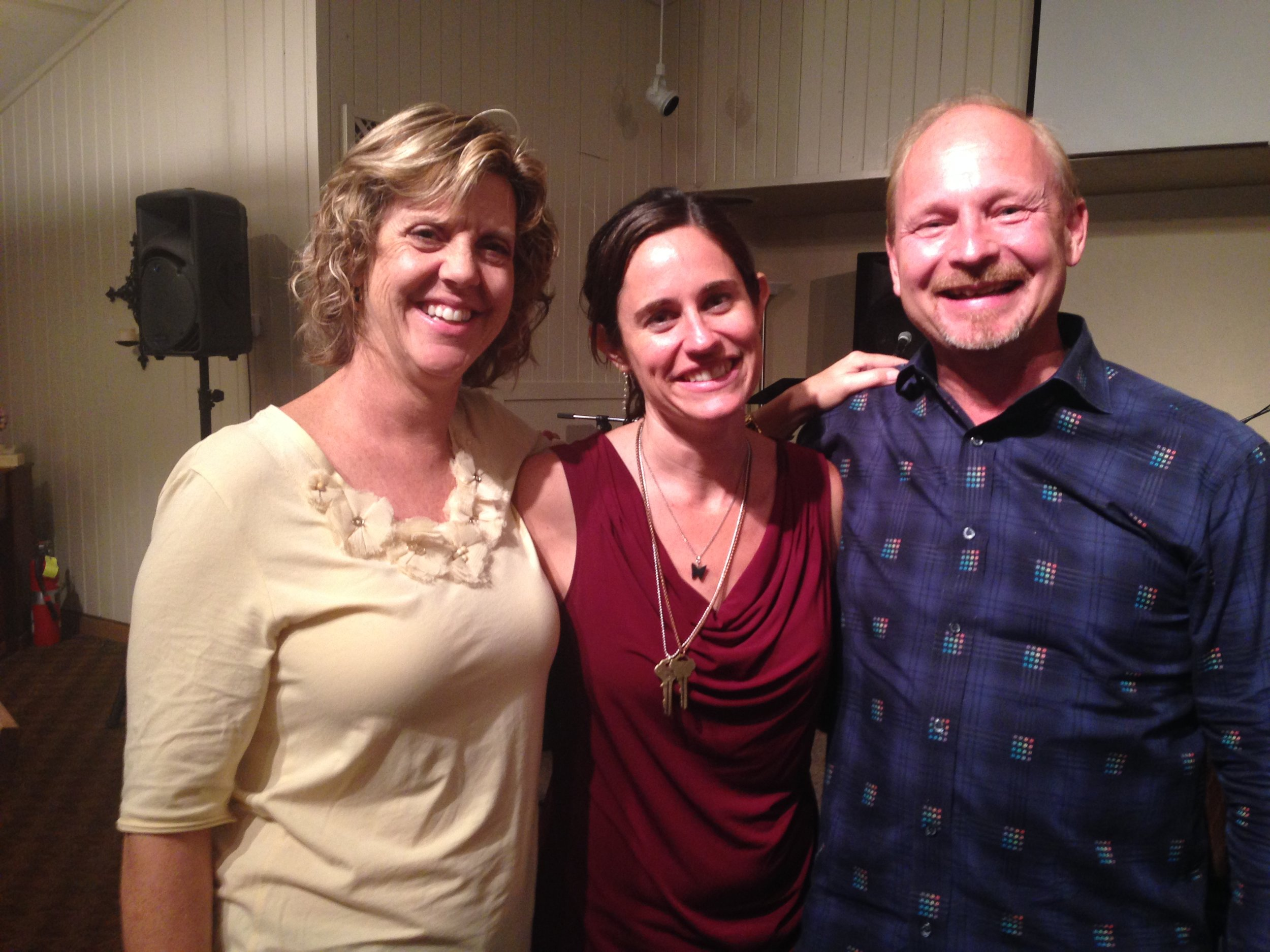 Me with our incredible hosts for these cities, Linda and Chuck.