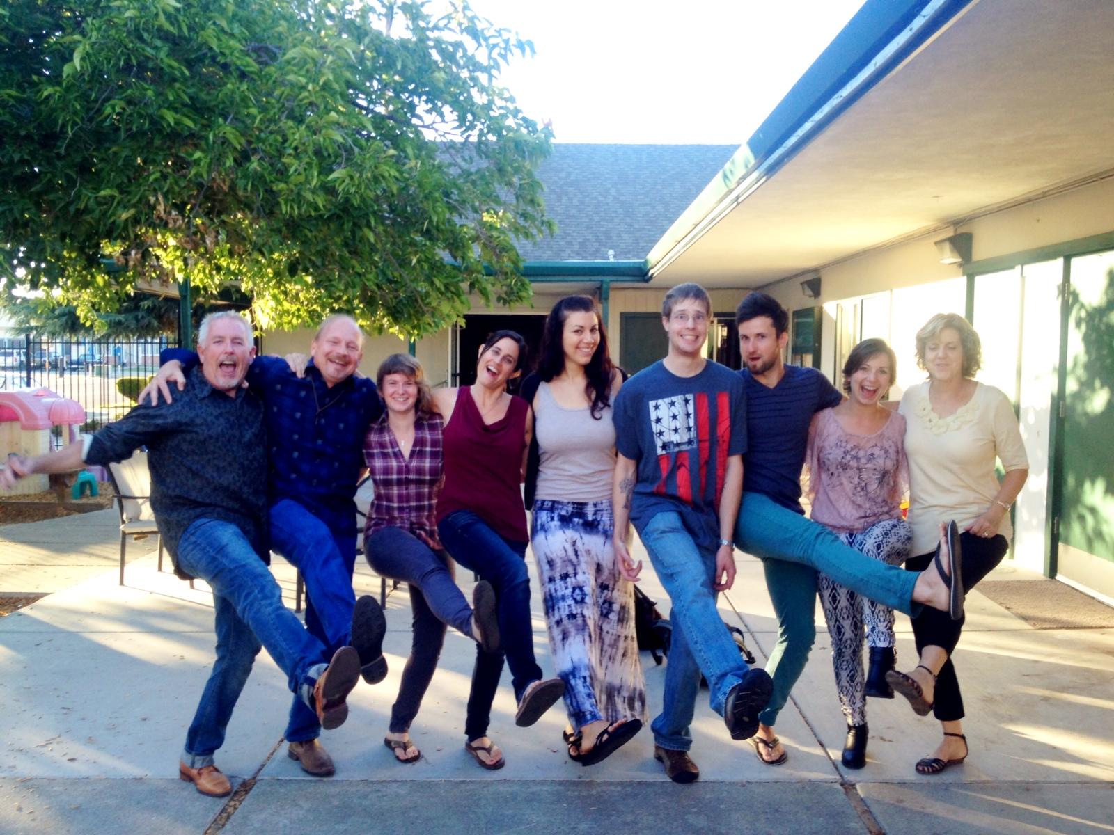 Kenny, Chuck, Linda and the Destiny family: Elisa, me, Crystal, Nick, Lukus, and Simona sending you blessings!!!