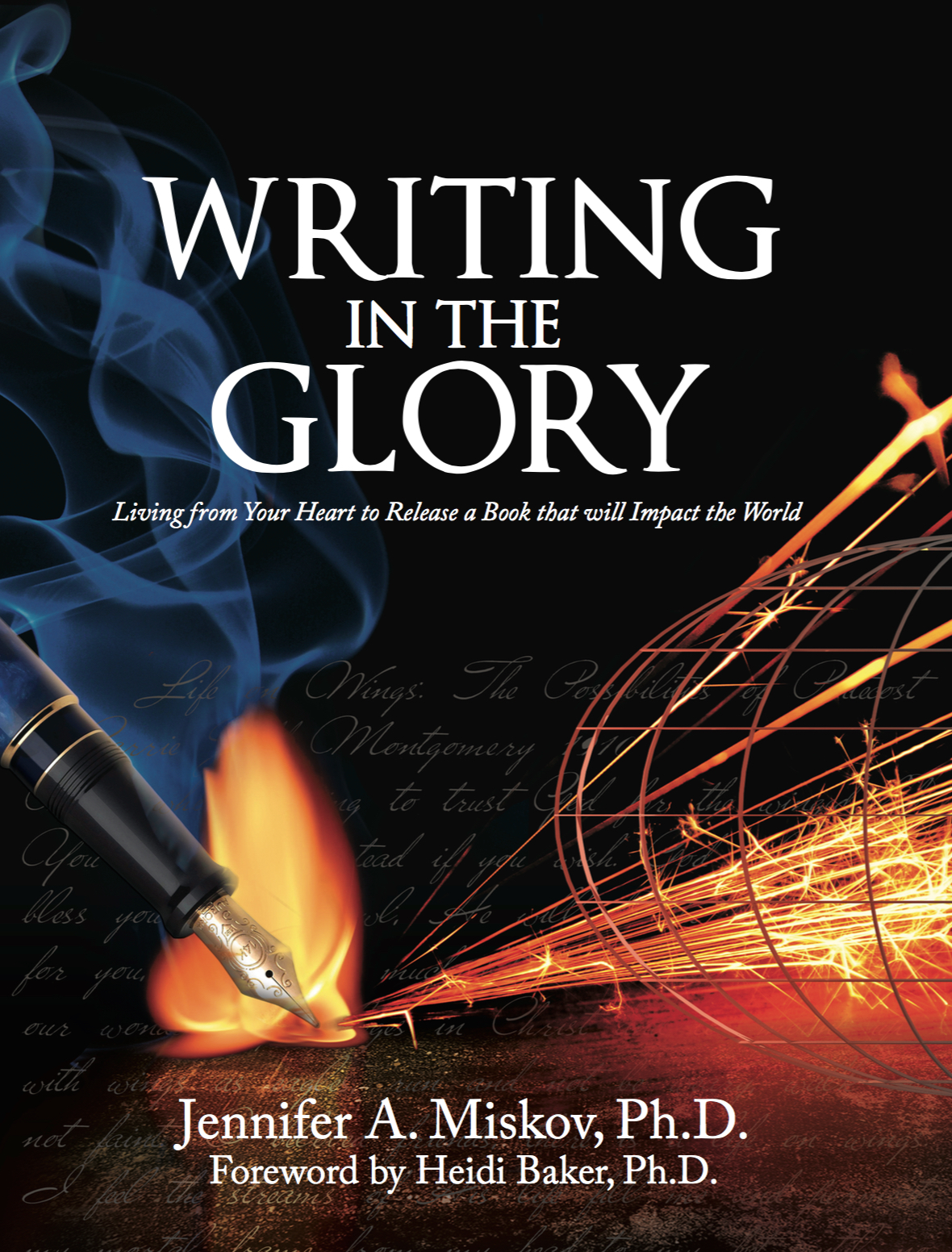 Writing in the Glory the  workbook  ($15). This is the manual that is used alongside the workshops, E-Course, and DVD.