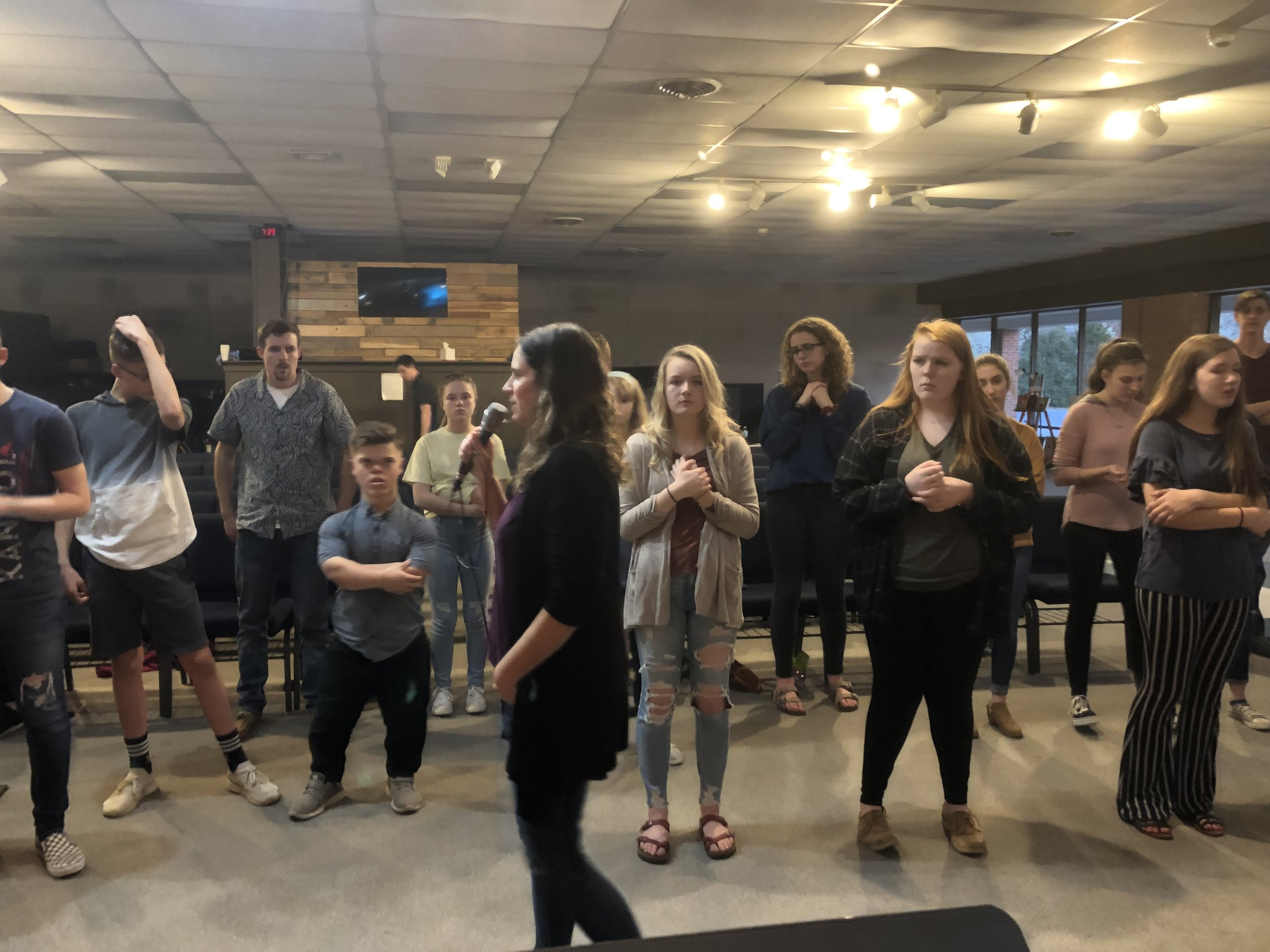 Learn more about a recent move of God in a youth group in Fredericksburg, Virginia in April 2019.