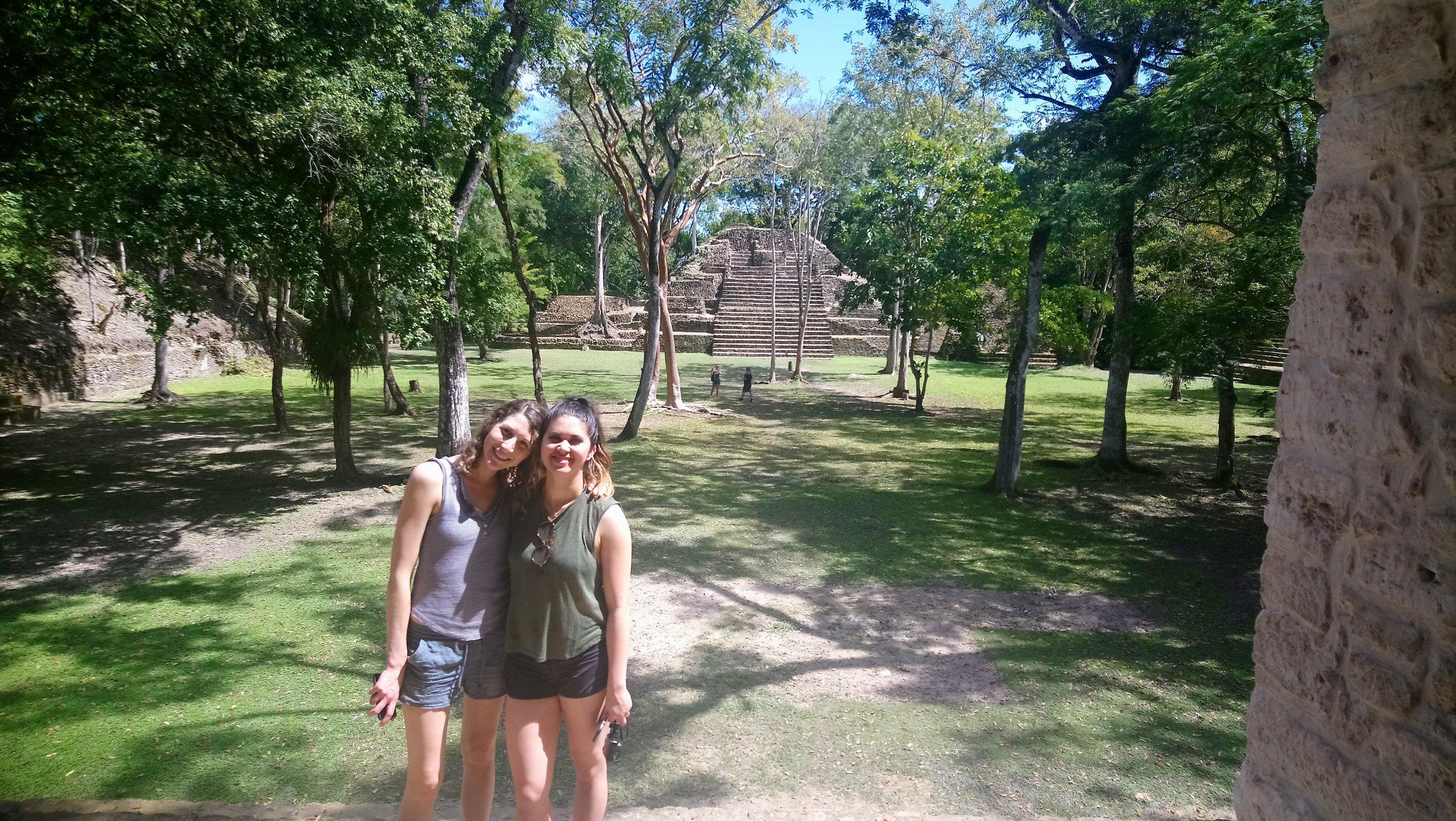 TREE Belize trip participants Zandra Thomson (@lifewithzandra) and Vanessa Hanel (@microyyc)
