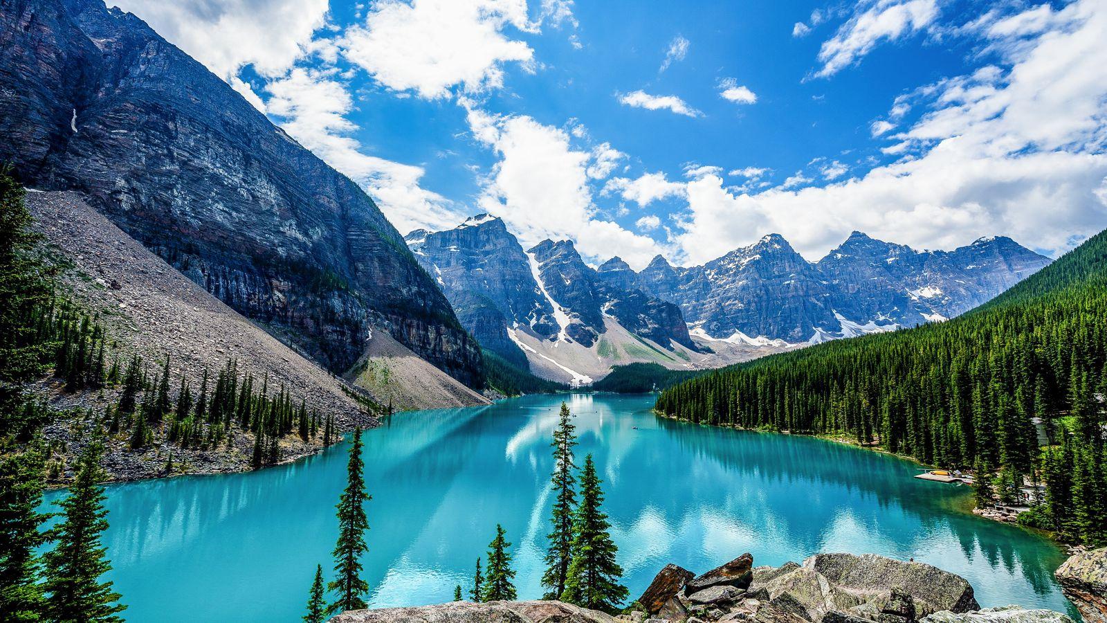 World famous Lake Louise
