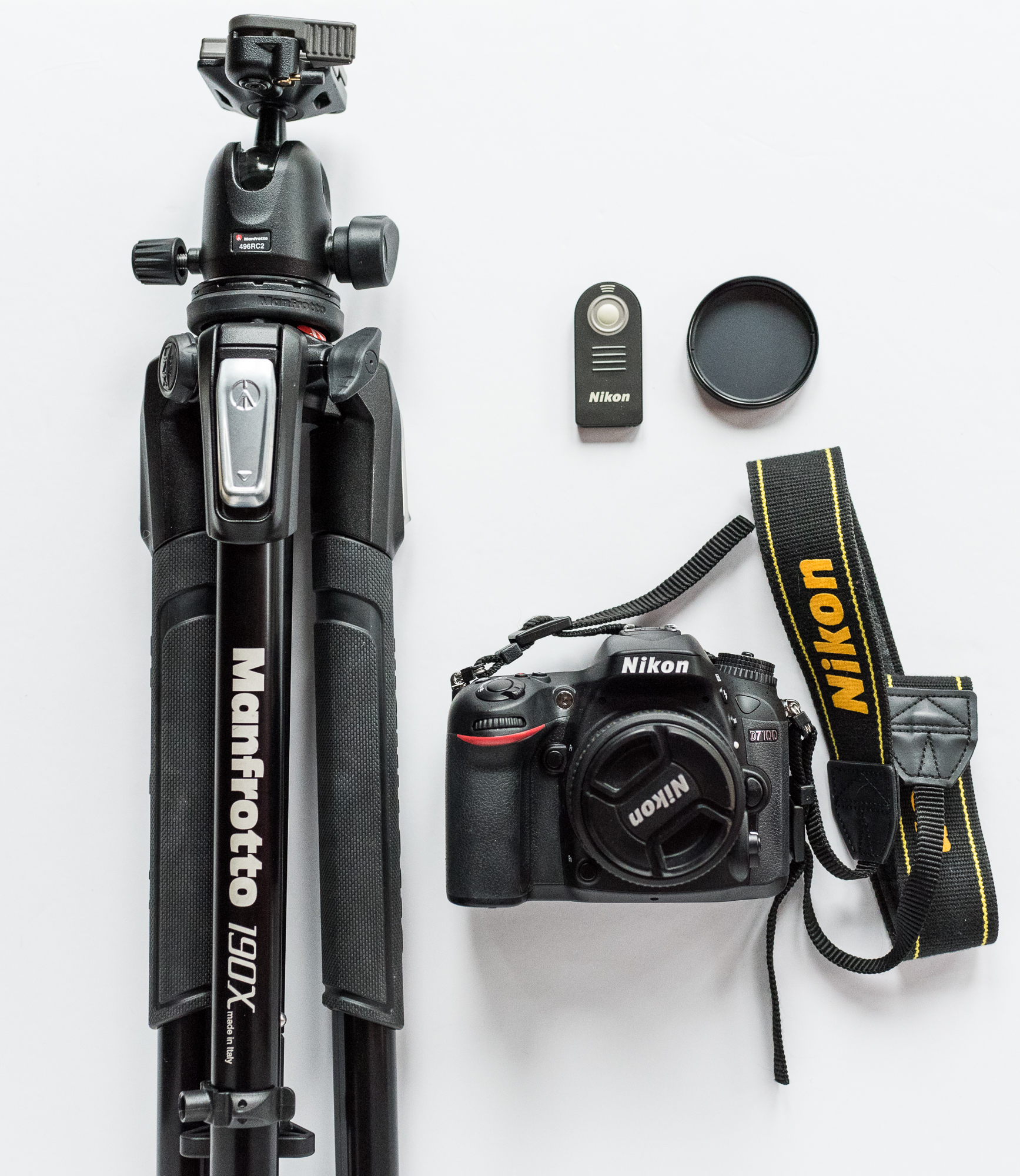 Sample photo essentials: Nikon D7100 cropped sensor DSLR, with a 50mm f1.8 lens, a wireless remote, polarizing filter, and a sturdy Manfrotto tripod.