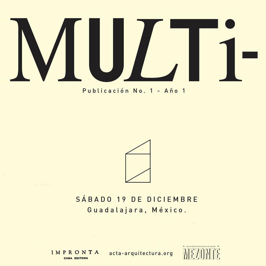 Revista ACTA, junto a José Luis Uribe
