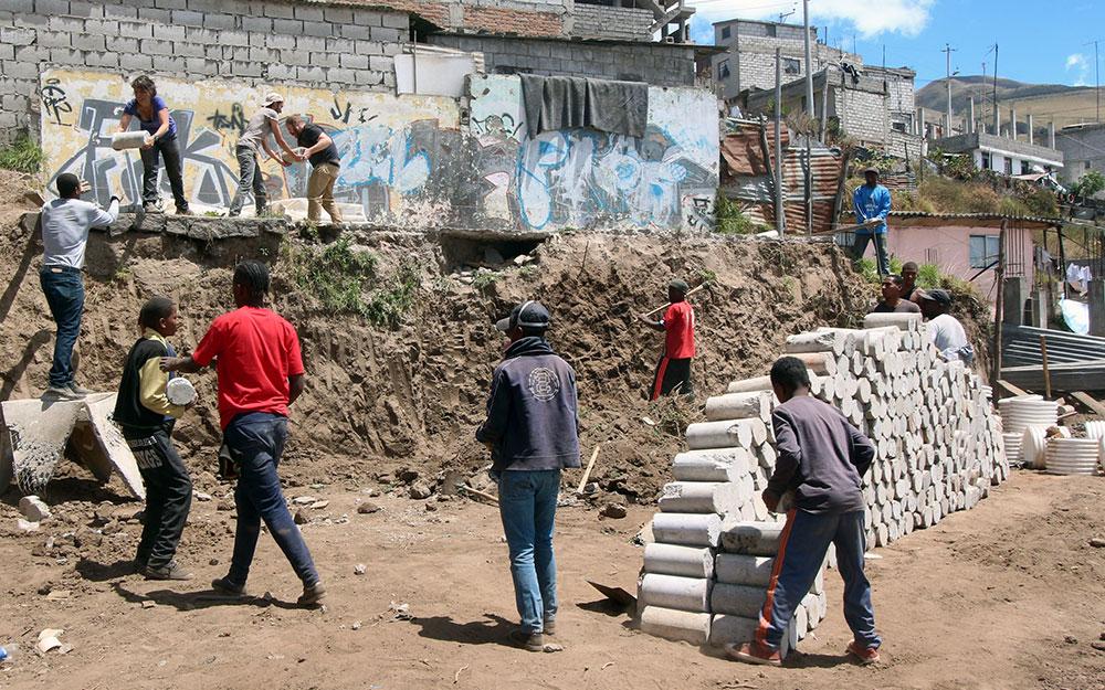 @Al Borde, participative construction journey