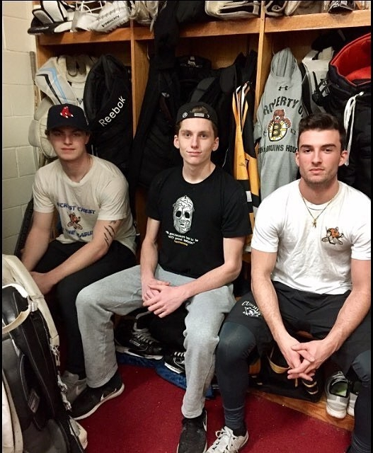 - Tendy trio on the Boston Jr. Bruins showing Tendy Threads some love.