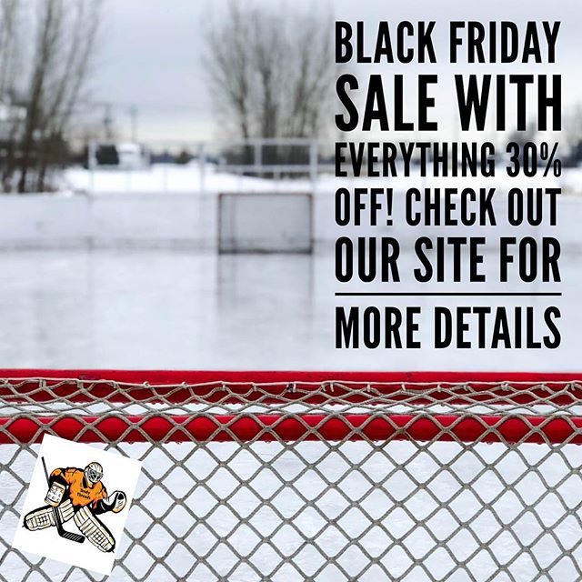 🚨🚨 Our Black Friday Sale is still ongoing with 30% off everything! Check out the link in our bio for more details! 🚨🚨 #TendyThreads #GGSU #GoaliesOnly #HockeyFightsCancer #TendySwag