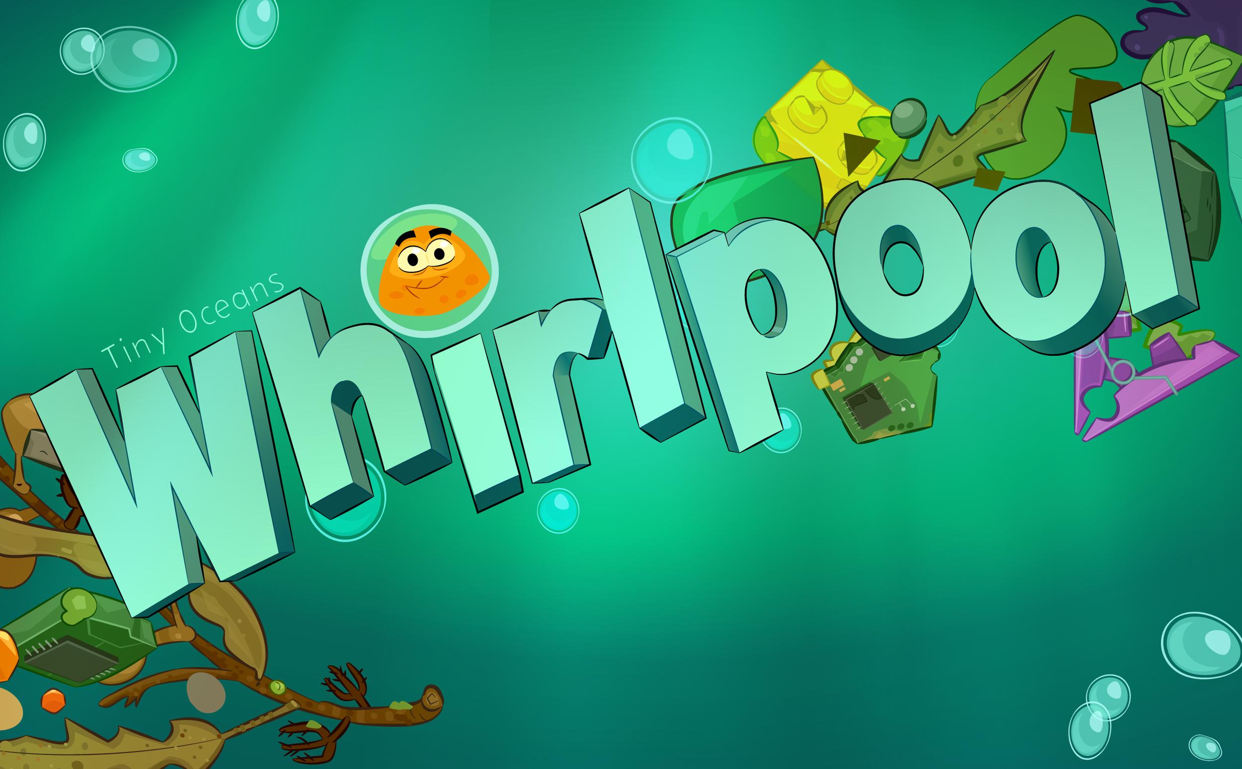 TINY OCEANS: WHIRLPOOL App Store Banner Screen