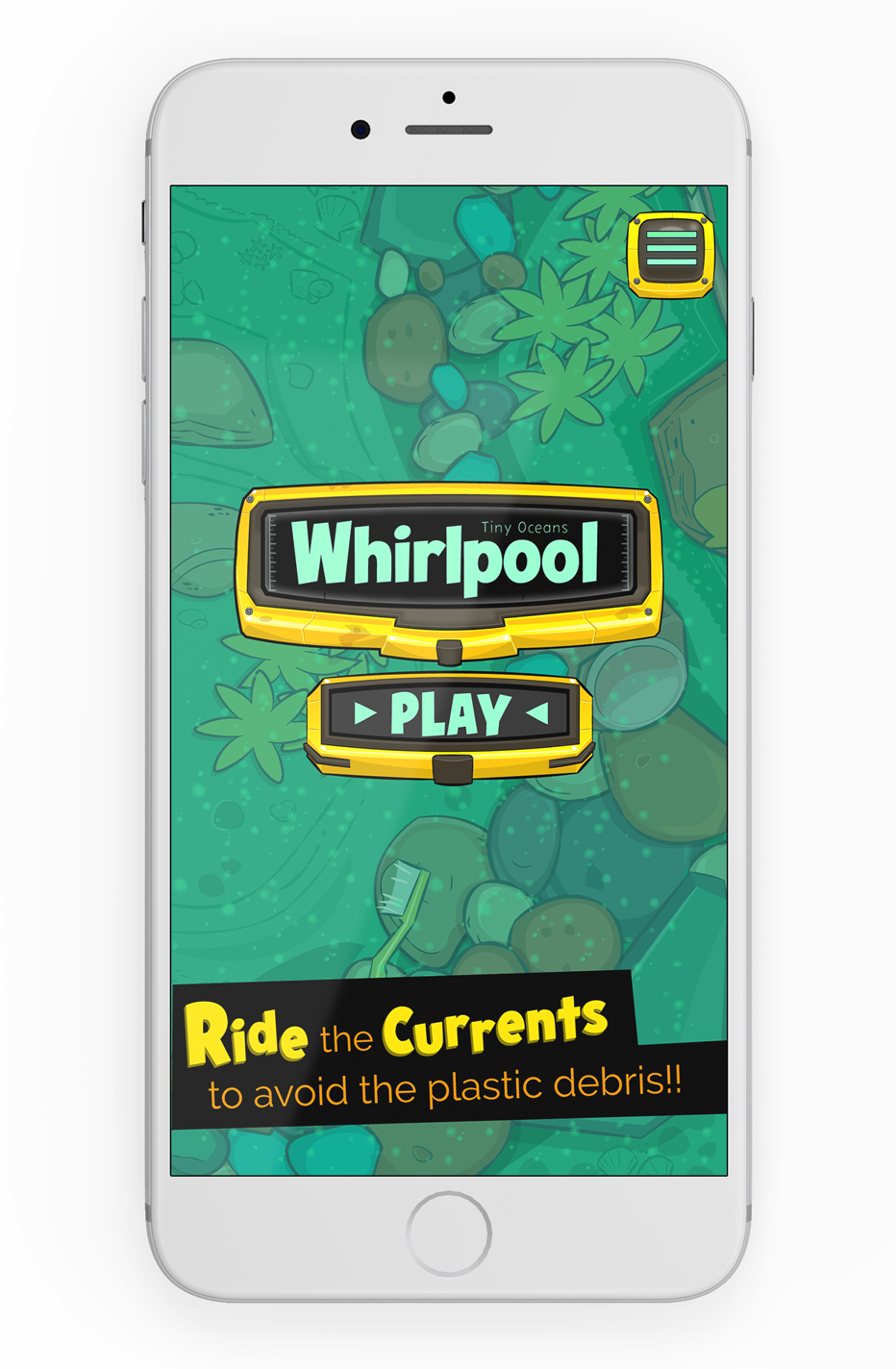 TINY OCEANS: WHIRLPOOL Mobile Device View