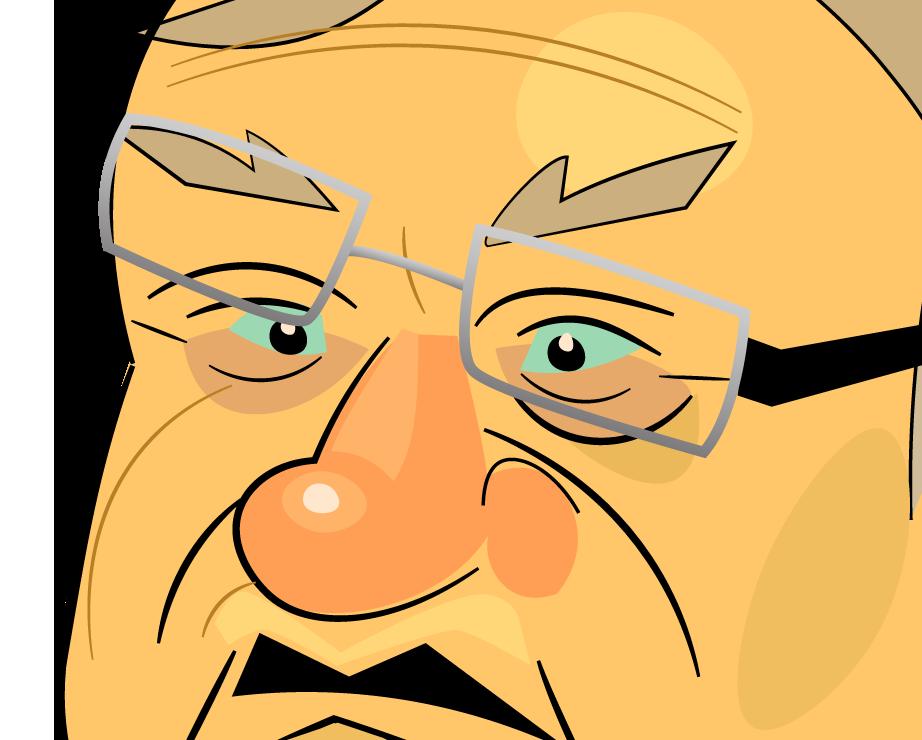 BOP THE BIGOT Joe Arpaio Character Design