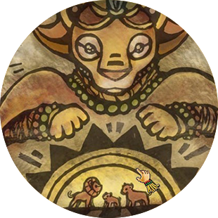 HABITAT RESCUE LION'S PRIDE Narrative Animation Detail