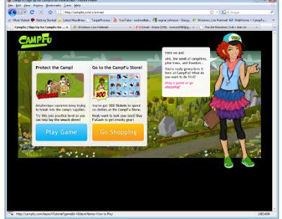 CAMP-FU Introduction Narrative Screen